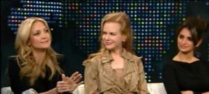 """Aktorët e filmit """"Nëntë""""në programin televiziv që drejtohet nga Larry King"""
