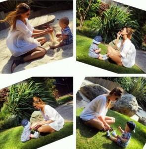 """Kaltrina Selimi një """"nënë e lumtur"""""""