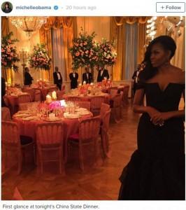 Shkëlqen Michelle Obama