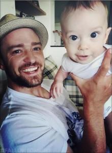 Justin Timberlake publikon fotot e para të djalit të tij