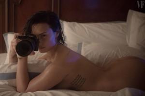 "Demi Lovato, nudo për ""Vanity Fair"""