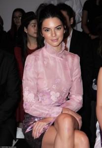 Kendall Jenner pa të brendshme