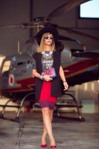Agnesa Vuthaj na vjen me helikopter