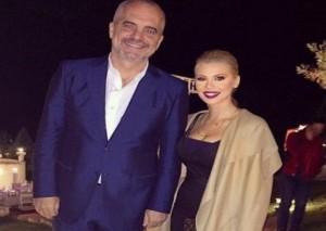 """Luana Vjollca bën """"tag"""" në Facebook Edi Ramën, por përgjigja e tij e lë me gisht në gojë"""