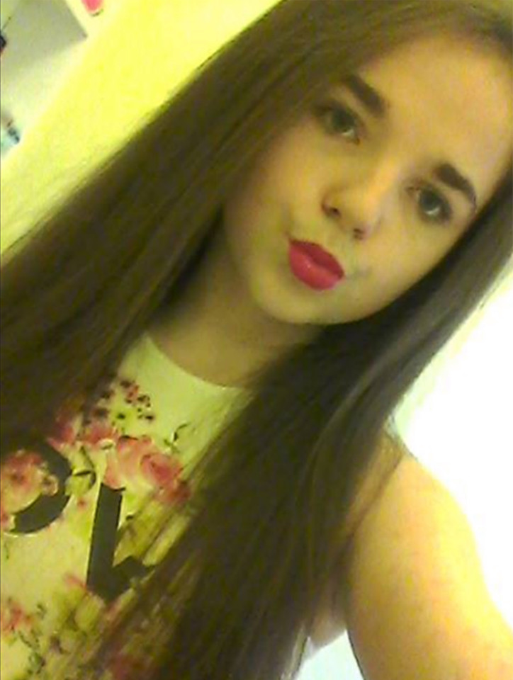 ***WARNING. We do not have permission to use these pictures*** SHELLIE Callaghan, 16, from Newtongrange, died on 15th Oct 2016 after being taken to hospital as police launch public alert over pills called Purple Ninja Turtles and Red Bugatti Veyrons. She took an ecstasy pill at a party. Taken from https://www.facebook.com/shelliecallaghanx
