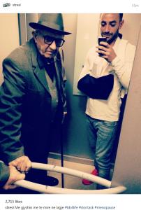 Arkimed Lushaj - Stresi paraqitet me dorën e thyer pas aksidentit