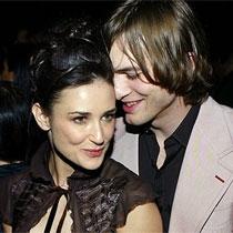 Ashton Kutcher dhe Demi Moore