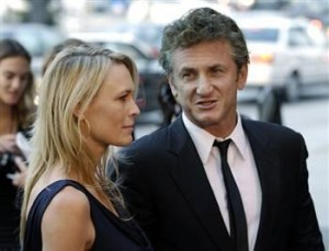 Robin Wright dhe Sean Penn