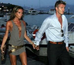 David Beckham dhe Victoria Beckham