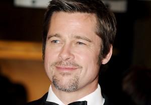 Brad Pitt ne premiere me shapka