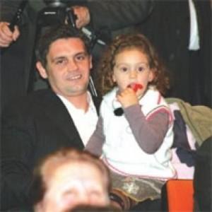 Alban Dudushi me ish-gruan në ditëlindjen e vajzës