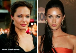 Angelina Jolie kunder Megan Fox