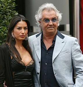 Briatore- Gregoraci presin femijen e pare?