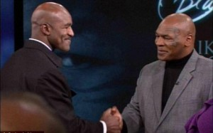 Mike Tyson dhe Evander Holyfield