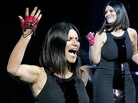 Laura Pausini ka shtuar peshë
