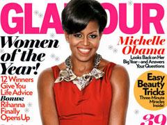 """Michelle Obama edhe ne kopertinina e """"Glamour"""""""