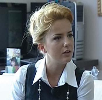 Rudina Hajdari në zyrë me Ilir Metëni
