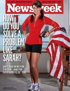 "Sarah Palin zëmërohet nga kopertina seksi e ""Newsweek"""