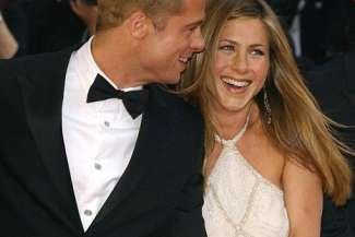Jennifer Aniston dhe Brad Pitt