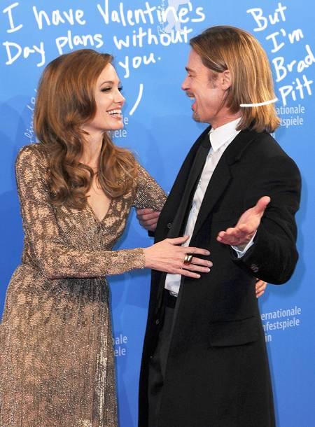 Angeline Jolie dhe Brad Pitt festojnë Shën Valentinin së bashku me familje por ajo i braktis ato