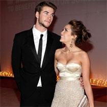 Miley Cyrus dhe Liam Hemsworth
