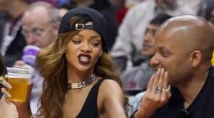 Rihanna nderon Bob Marley