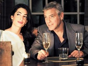 George Clooney dhe e fejuara e tij
