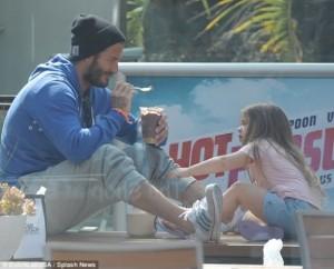 David Beckham një baba i përkushtuar