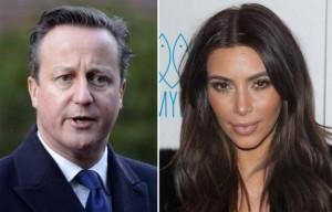 David Cameron zbulon lidhjen familjare me Kim Karadashian