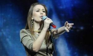 Elhaida Dani në prova për Eurovision Song Contest