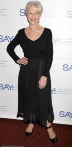 Helen Mirre në formë të pabesueshme