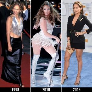 Jennifer Lopez duket më mirë tani se para 17 vitesh