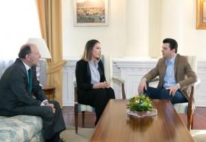 Lulzim Basha mbështet Elhaidën për në Eurovizion