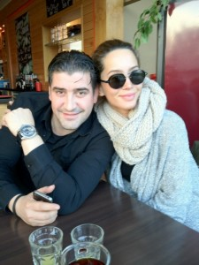 Dafina Zeqiri dhe Meda me një foto të përbashkët...