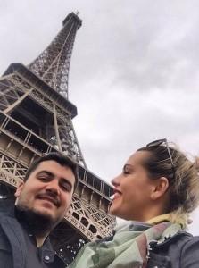 Ermal Fejzullahu me dashurinë në qytetin e Parisit