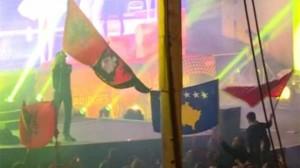 Flamuri i Shqipërisë së Madhe edhe në Vjenë gjatë prezantimit të Serbisë