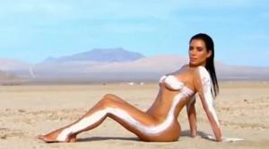Kim Kardashian nudo