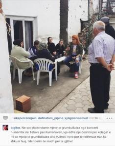 Big Mama shpërndan ndihma në Kumanovë
