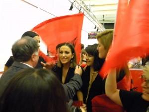 Elhaida Dani e kënaqur me kualifikimin në Eurovision