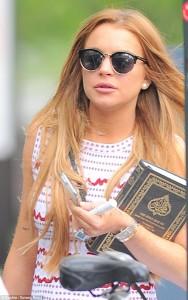 Lindsay Lohan bëhet muslimane
