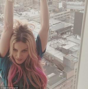 Madonna ndryshon pamjen e jashtme