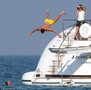 Ronaldo po e shijon jetën në St. Tropez