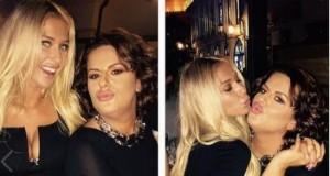 Adelina dhe Big Mama puthen