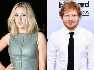Ellie Goulding dhe Ed Sheeran revoltohen me mediat