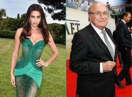 Irinën e tallin për Blatter-in