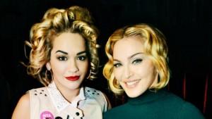 Madonna publikon klipin, Rita pjesë e tij