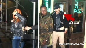 "Rihanna & Karim Benzema ""kapen mat"""