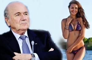 Sepp Blatter ishte i dashuri i Irina Shayk