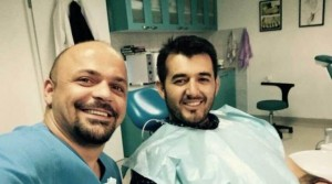 Labinot Tahiri te dentisti