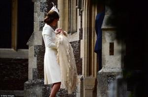 Pagëzohet Princesha Sharlotë